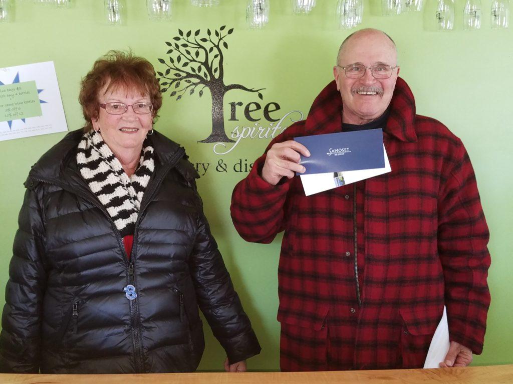 2018 Maine Wine Trail passport winners